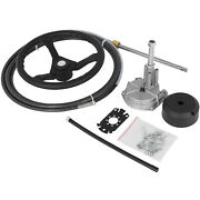 Ss13712 12 Feet Cable Rotary Steering System 13 Wheel Quick Hardware Package