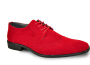 Really Nice New Menand039s Red Wing Tips Faux Suede All Sizes Tuxxman Quality