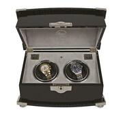 Rapport Serpentine Duo 2 Watch Winder Piano Finished Ebony