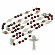 Rosary Wooden Beads Stations Of The Cross