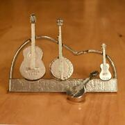 Americana Measuring Spoons With Display Stand- Stringed Instruments- Musical Str