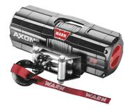 Warn Axon 3500lb Winch And Mount Mount - 2016-2018 Yamaha 700 Grizzly 4x4 Atv