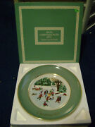 Lot Of 9 Vintage Avon Collectors Christmas Plates - 1975 And 1983