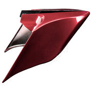 Hard Candy Hot Rod Red Stretch Extend Side Cover Panel Fit 2014+ Harley Touring