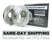 Front Premium Disc Brake Rotors 2007 Chrysler Town And Country