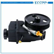 Power Steering Pump W/ Pulley For Chevrolet Impala Monte Carlo 3.5l 2006-2011
