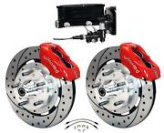Wilwood 64-72 Chevelle A-body Manual Front Disc Big Brake Kit Drilled 12