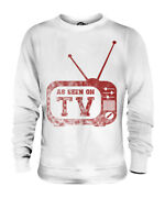 As Seen On Tv Unisex Printed Sweater Humour Gift Cctv Fashion Clothing