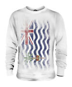 British Indian Ocean Territory Faded Flag Unisex Sweater Top Gift Shirt