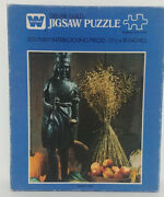 Golden Deluxe Guild 500 Piece Jigsaw Puzzle Harvest King--new/ealed B4615-236