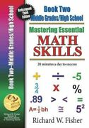 Mastering Essential Math Skills Book Two Middle Grades/high School Paperbac...