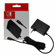 Ac Adapter Power Supply Wall Travel Charger 2.4a Cable Cord For Nintendo Switch