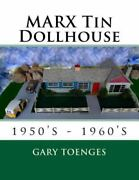 Marx Tin Dollhouse 1950's - 1960's, Brand New, Free Shipping In The Us