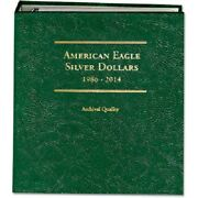 Littleton Album Archival Quality For American Silver Eagles 1986-2014 Coin Lca13