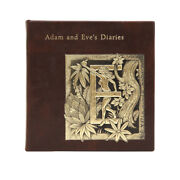 Twain Mark Adam And Eveand039s Diaries Leather Binding Collectible Limited Edition