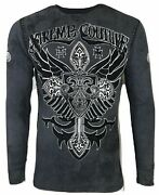 Xtreme Couture By Affliction Bronze Arms Menand039s Thermal