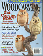 Wood Carving Illustrated Magazine, Get Carving Now   Fall, 2018  Issue, 84