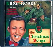 Sealed New Cd Bing Crosby - The Christmas Songs Featuring War-time Christmas Bro