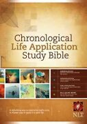 Chronological Life Application Study Bible Hardcover By Tyndale House Publis...