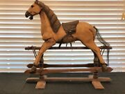 Early American Antique Rocking Horse