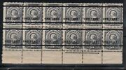 Newfoundland 75 - 76 Mint Fine - Very Fine Never Hinged Plate Block Of 12