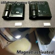 2x Car Door Step Courtesy Welcome Laser Wireless Shadow Led Light B1 For Alfa