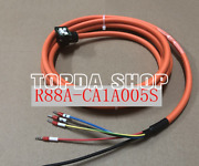 1pc Omron R88a-ca1a005s Servo Motor Drag Chain Cable 5m Zh