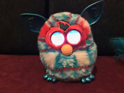 Hasbro Furby 2012 Christmas Blue Without Box Rare Collectible