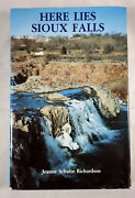 Here Lies Sioux Falls, Jeanne Schulte Richardson, Signed, First Edtiion, 1992