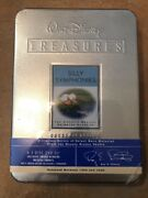 New Walt Disney Treasures Silly Symphonies 2 Dvd Tin Set Oop Rare Sealed Nmbred