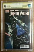 Darth Vader 1 150 Campbell Connecting Variant Cbcs 9.8 Signed By David Prowse
