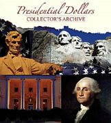 2 Whitman Presidential Dollars Collectors Archive 2218 Coin Folders 40 Slots New