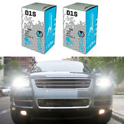 Low Beam Front Hid Headlight Bulbs For Vw Touareg 2004 To 2010 Pack Of 2