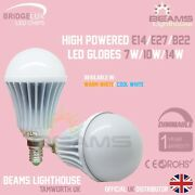 E14 B22 E27 Dimmable Bridgelux Led 7w 10w 14w Edison Warm/cool White Bulb Globe