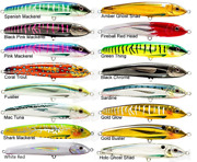 Nomad Riptide 155mm Slow Sinking Hard Body Fishing Lures Brand New @ Ottos Tw