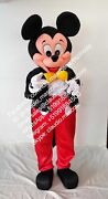 Mickey Mouse Tuxedo Magic Adult Mascot Costume Party Clothing Fancy Dress G