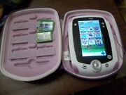 Leapfrog Leappad 1 Explorer Learning Tablet Pink W/ 2 Smartridges And Pink/purple