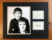 Peter Cook And Dudley Moore Signed Display - Uacc And Aftal Rd Autograph