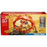 Hot Wheels Throwback Fireball Crash Playset Discontinued By Manufacturer