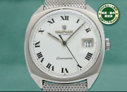 Waltham Americana White Dial Date Automatic Cal.ht 154 25 Jewels 1960s
