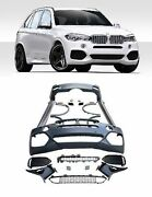 Bodykit M Sport For Bmw X5 F15 Front Rear Bumper Fender Flares Side Skirts