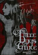 Three Days Grace Band Signed Autographed Poster Adam Gontier Authentic 3397