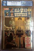 All-star Western 10 1972 Pgx 9.0 1st Appearance Of Jonah Hex