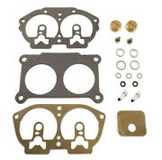 Carburetor Repair Kit With Clips Valve Needles Plugs And Float Chamber Gasket