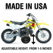 Suzuki Drz110 Kids Youth Training Wheels Only Drz 110 Motorcycle All Years