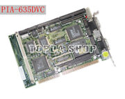 1pc Pia-635dvc Industrial Motherboard Isa Bus Integrated Cpu Memoryzh