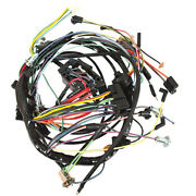 1965 Ford Mustang Dash Harness - With Lights And 2 Speed Heater Motor