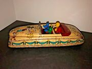 Vintage/antique Tin Marx Disney Parade Roadster 1940s Collector Mickey Mouse