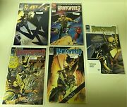 Signed Hawkworld Hawkman Dc Comic Book Lot Autographed Approx.value 175