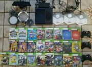 Xbox360,kinect,25 Games,3 Controllers,2 Skylanders And 3 Disney Infinity Portals